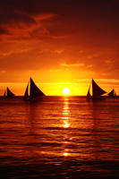 Boracay Sunset by SniperOfSiberia