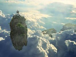 Solitude in the Sky by DJMadameNoir