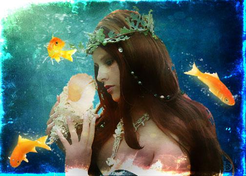 Mermaid by DJMadameNoir