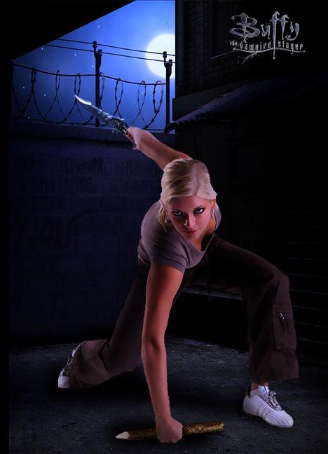 Buffy by DJMadameNoir