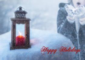 Holiday Card 1 by DJMadameNoir