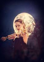 Fire By Moonlight by DJMadameNoir