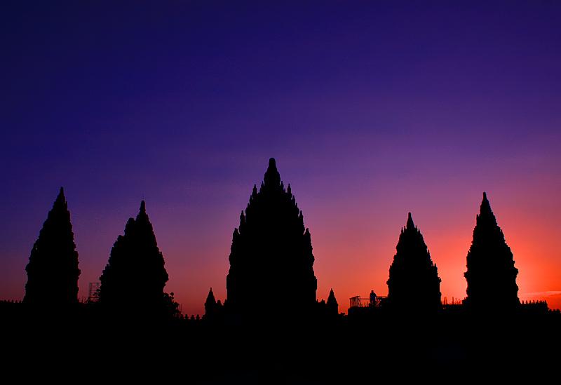 prambanan temple by maleica