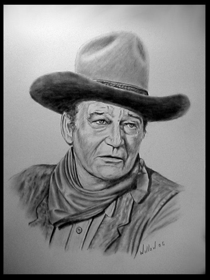 John Wayne by willow1