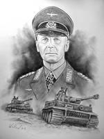 Rommel, The Desert Fox by willow1