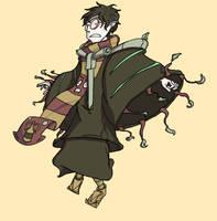 Legend of Hisao: The Dark Wizard Kenji by HoubleDelix