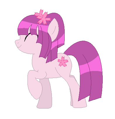 Cherry Blossom Pony Adopt CLOSED by Mizz-Magic