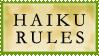 Haiku Rules