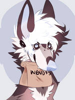 Bitch Give Me My Wwendys by snuffpup
