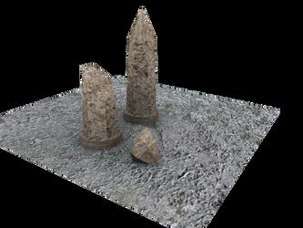 Broken Pillar Render Beta by 21eeveevulpix