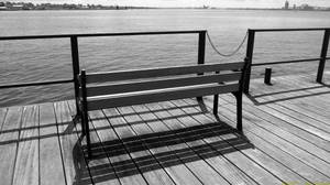 Lonesome Bench. by Ad-Noctum