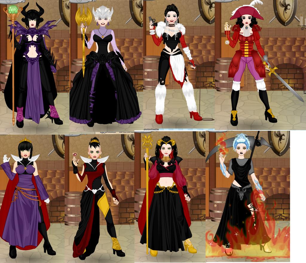 Video Game Avatar Creator Disney Villains By JSRoz On
