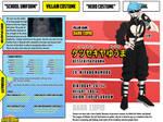 [Bnha Oc] [character sheet] Yuuma Kessekiya