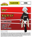 [Bnha OC][character sheet] Killcide