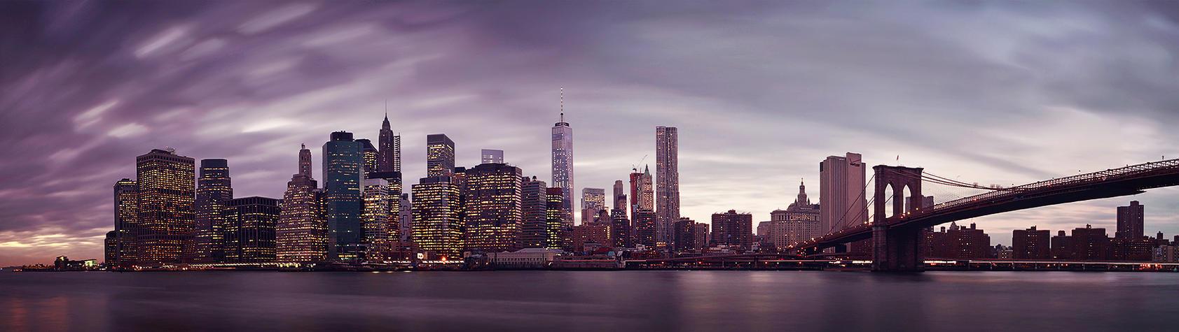 NYC Panorama by sensorfleck