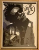 Public Image Ltd Stencil by dannyboib