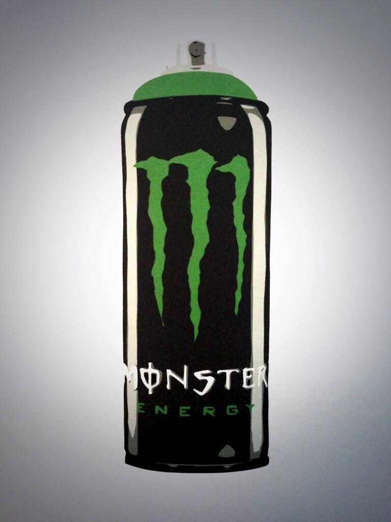 Monster Green Spray Paint