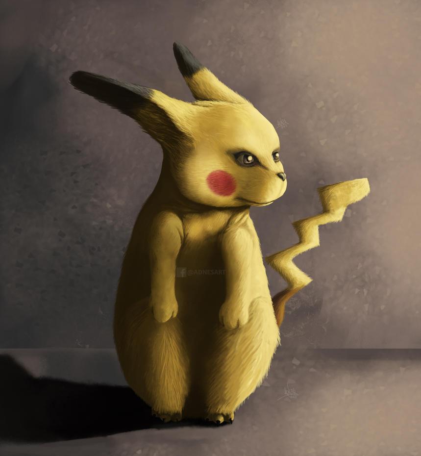 Concept fan art pikachu by adnes by adnesart