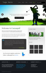 Currangolf Web design