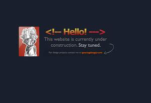 Website Underconstruction for My Portfolio Website
