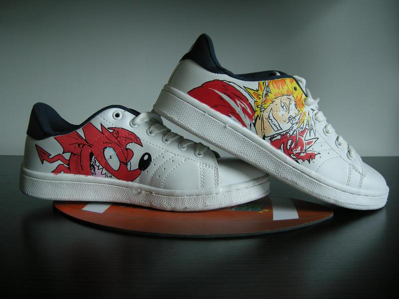 ES21 sneakers Hiruma by KidKazuma