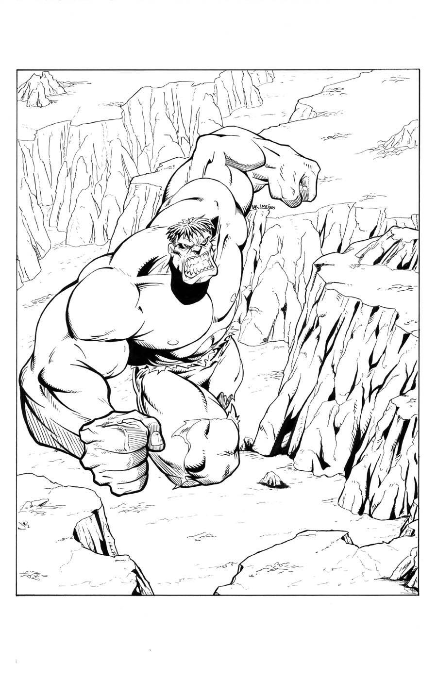 Hulk inked once again by billmeiggs