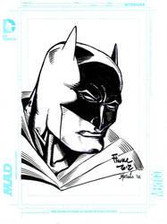 Batman final inks over Dave Finch by billmeiggs