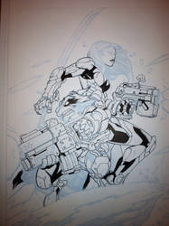 Guardians of the Galaxy #2 wip by billmeiggs