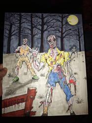 Zombies by billmeiggs