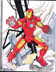Iron Man commission by billmeiggs