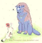 Chibiterasu meets Oki