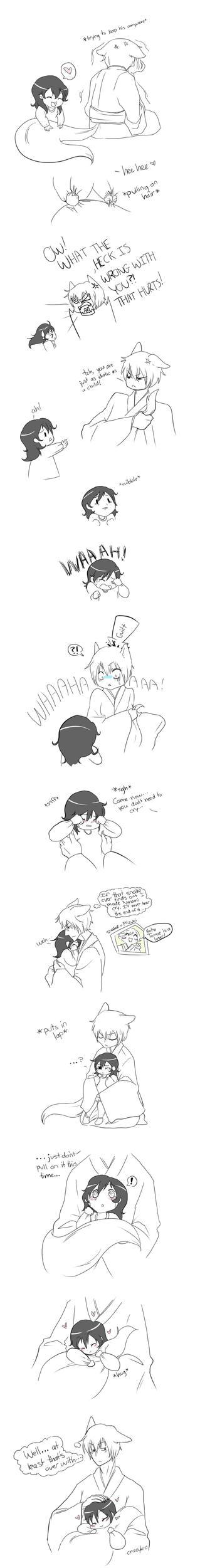 Tomoe and mini Nanami part 2 by CrazyKuri-chan