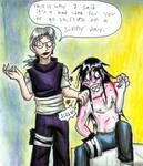 Shirtless is bad? :Orochimaru:
