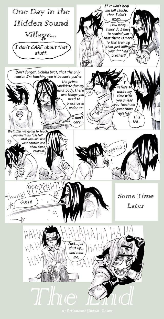 Sasuke Oro Kabuto : Maturity by Yakushi--Kabuto