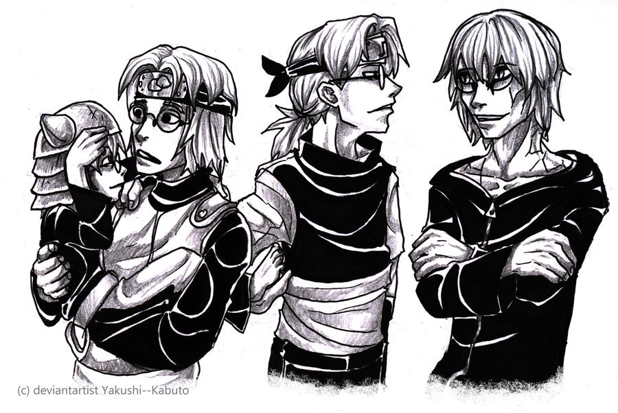 Which one is Kabuto? by Yakushi--Kabuto