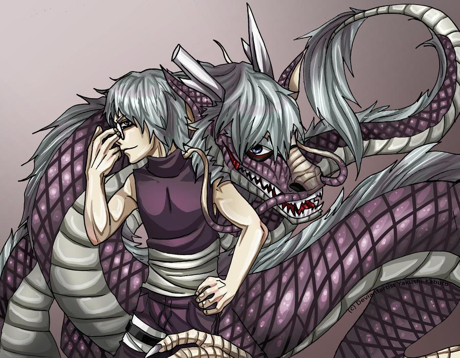 Kabuto and Dragon : True Colors by Yakushi--Kabuto