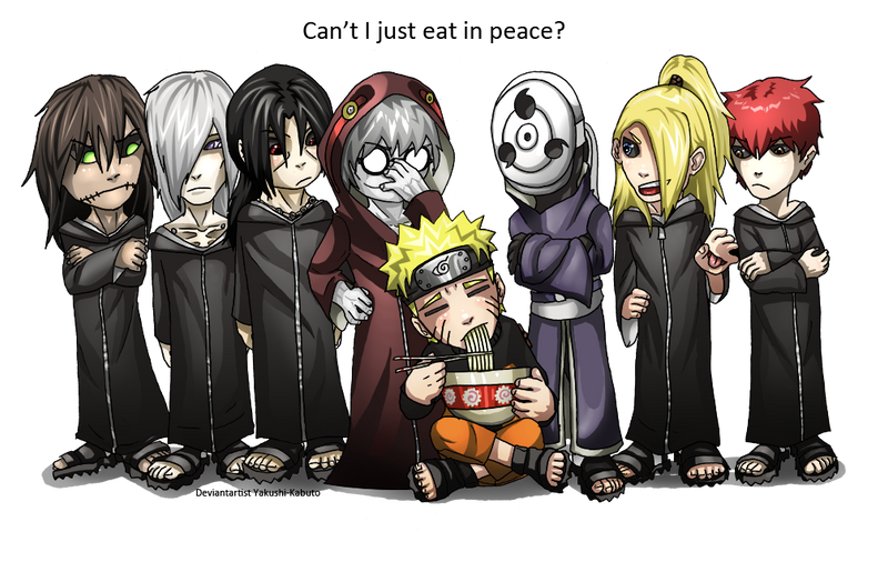Naruto: NO TIME FOR RAMEN by Yakushi--Kabuto
