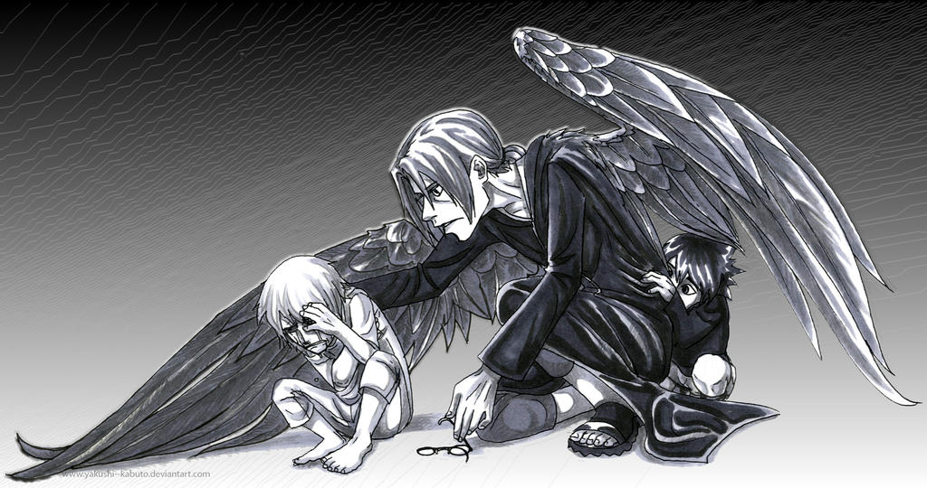 Helpless by Yakushi--Kabuto