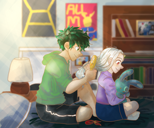 Eri and Izuku