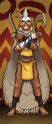 Nascha, Warchief of the Ooljee Tribe
