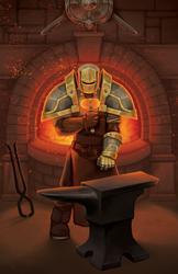 Darren, Grand Artisan Blacksmith
