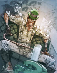 The Riddler by MiaCabrera