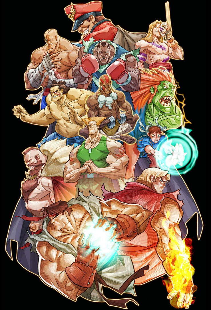 Street Fighter by MiaCabrera