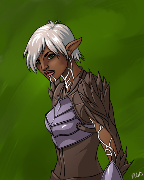 Miss Fenris by MariahGem