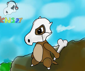 [Pokedraw Daily #4] Cubone by KNS27