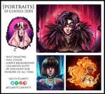 Portraits by ClaretClarinets