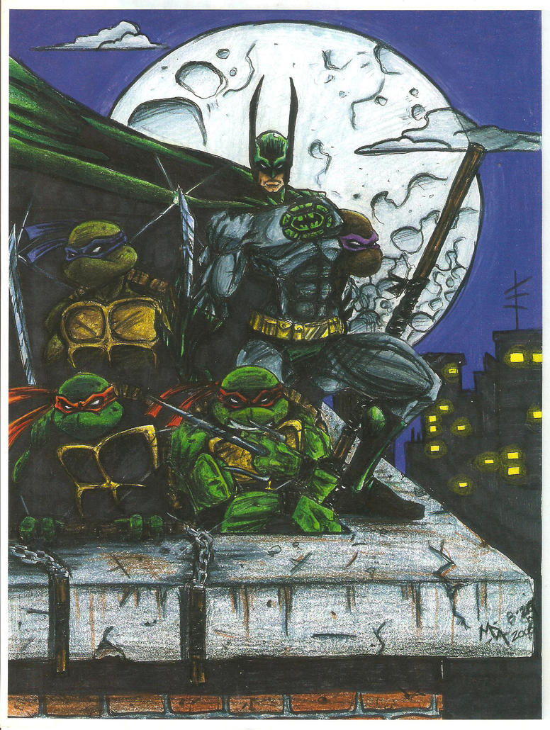 2006! Batman and The Turtles by MatAndre