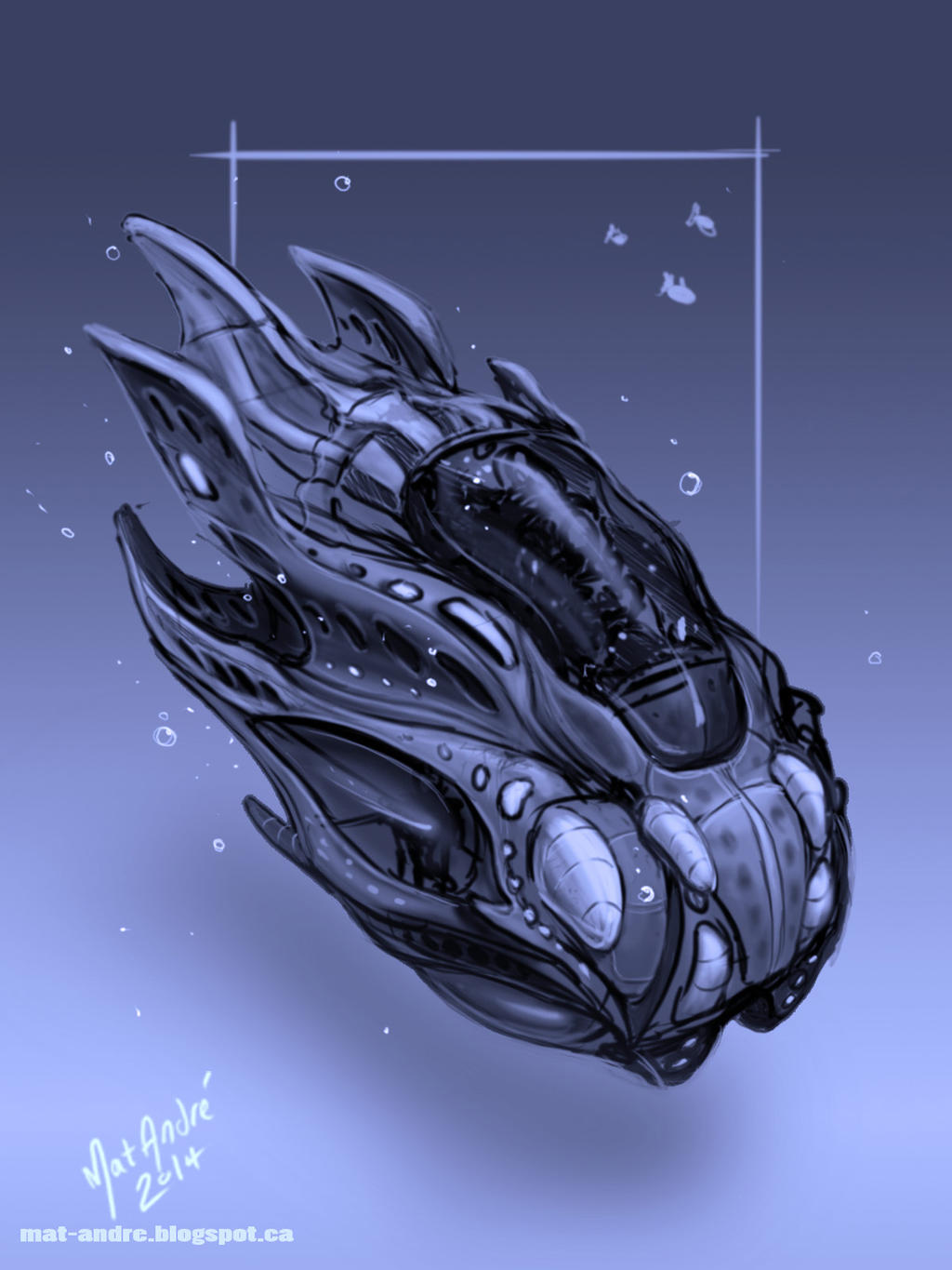 Underwater Vehicle 01 - By - Mat Andre by MatAndre