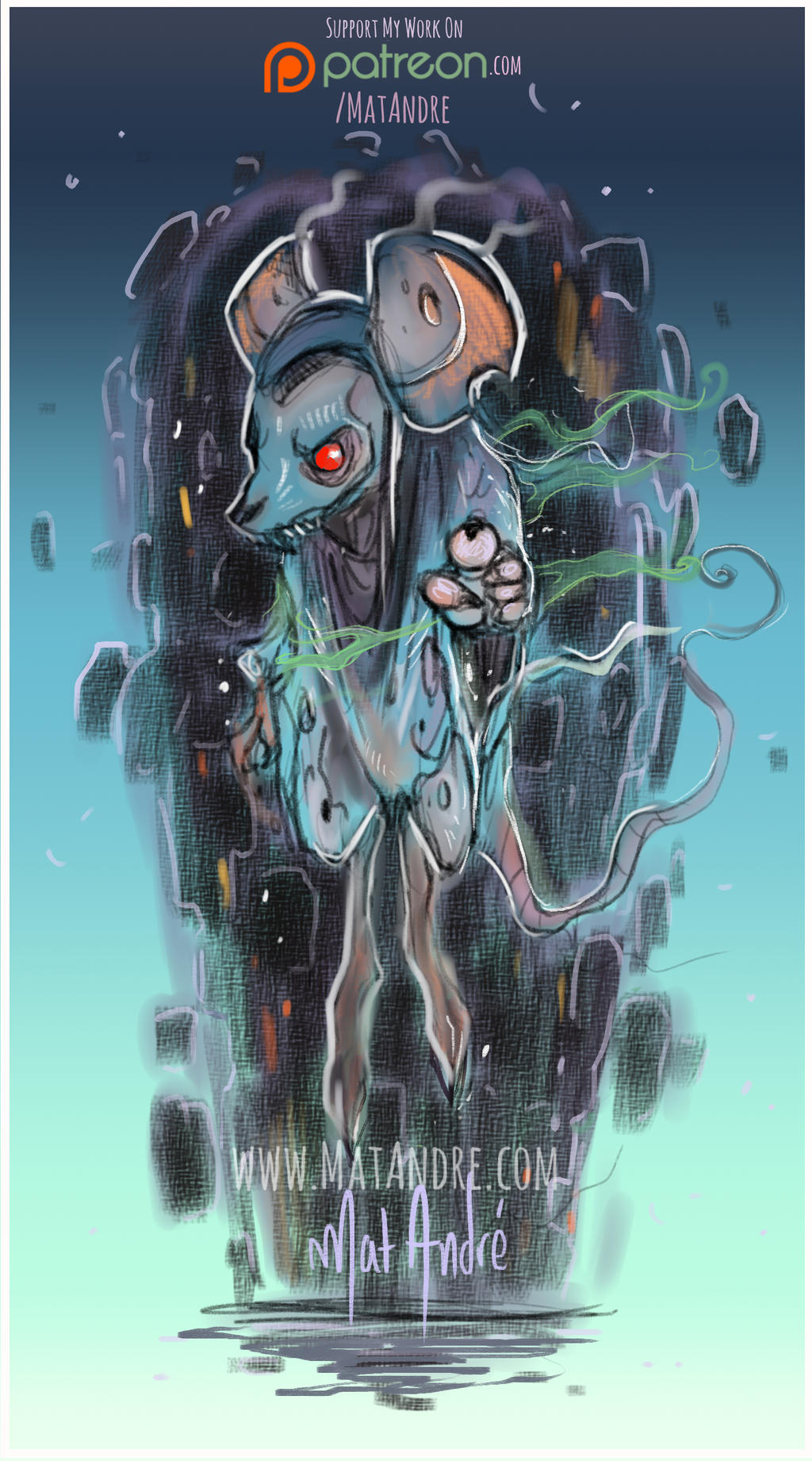 Mouse Ghost by MatAndre
