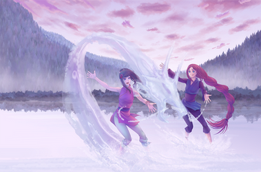 Sisterly Bonding by Miisu